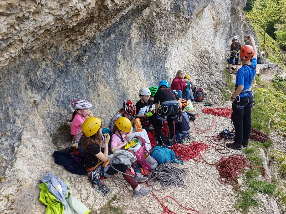 Kletterworkshop vom 28. April 2018